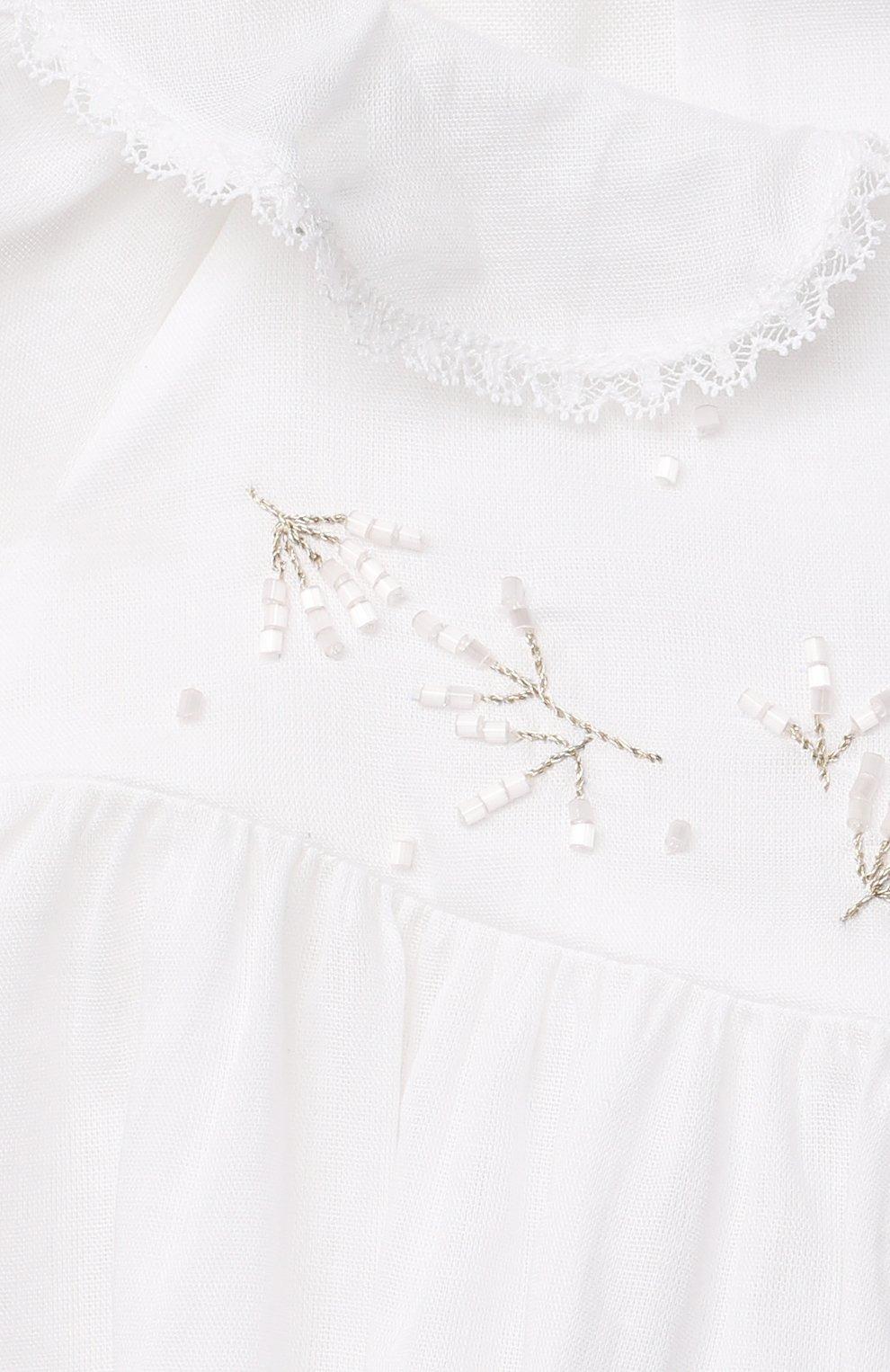 Детский комплект из топа и шорт TARTINE ET CHOCOLAT белого цвета, арт. TS37011/1M-9M | Фото 6