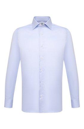 Мужская хлопковая сорочка LUIGI BORRELLI голубого цвета, арт. EV08/LUCIAN0/S31027 | Фото 1