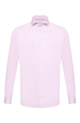 Мужская хлопковая сорочка ETON розового цвета, арт. 1000 02645 | Фото 1