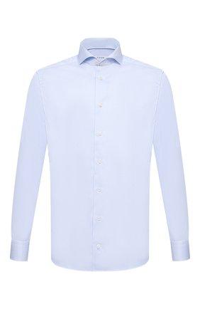 Мужская хлопковая сорочка ETON голубого цвета, арт. 1000 02645 | Фото 1
