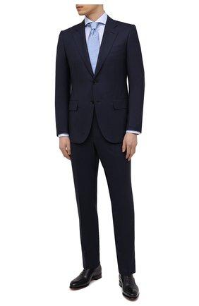 Мужская хлопковая сорочка ETON голубого цвета, арт. 1000 02645 | Фото 2