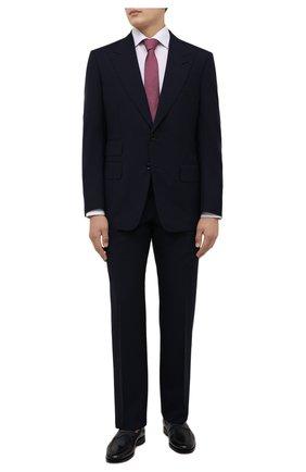 Мужская хлопковая сорочка ETON белого цвета, арт. 1000 02195 | Фото 2 (Материал внешний: Хлопок; Случай: Формальный; Рубашки М: Regular Fit; Принт: Однотонные; Стили: Классический; Рукава: Длинные; Манжеты: На пуговицах; Воротник: Акула; Длина (для топов): Стандартные)