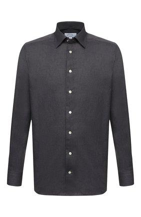 Мужская хлопковая рубашка ETON темно-серого цвета, арт. 3991 61311 | Фото 1