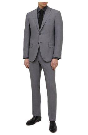 Мужская хлопковая рубашка ETON темно-серого цвета, арт. 3991 61311 | Фото 2