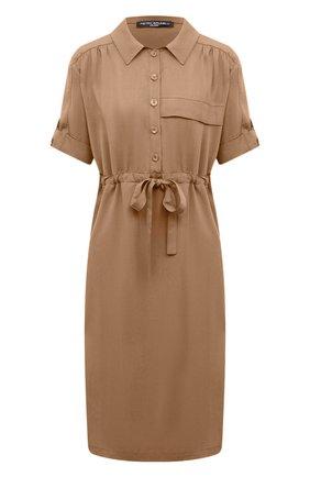 Женское платье PIETRO BRUNELLI бежевого цвета, арт. AG0441/LG/TE0010 | Фото 1