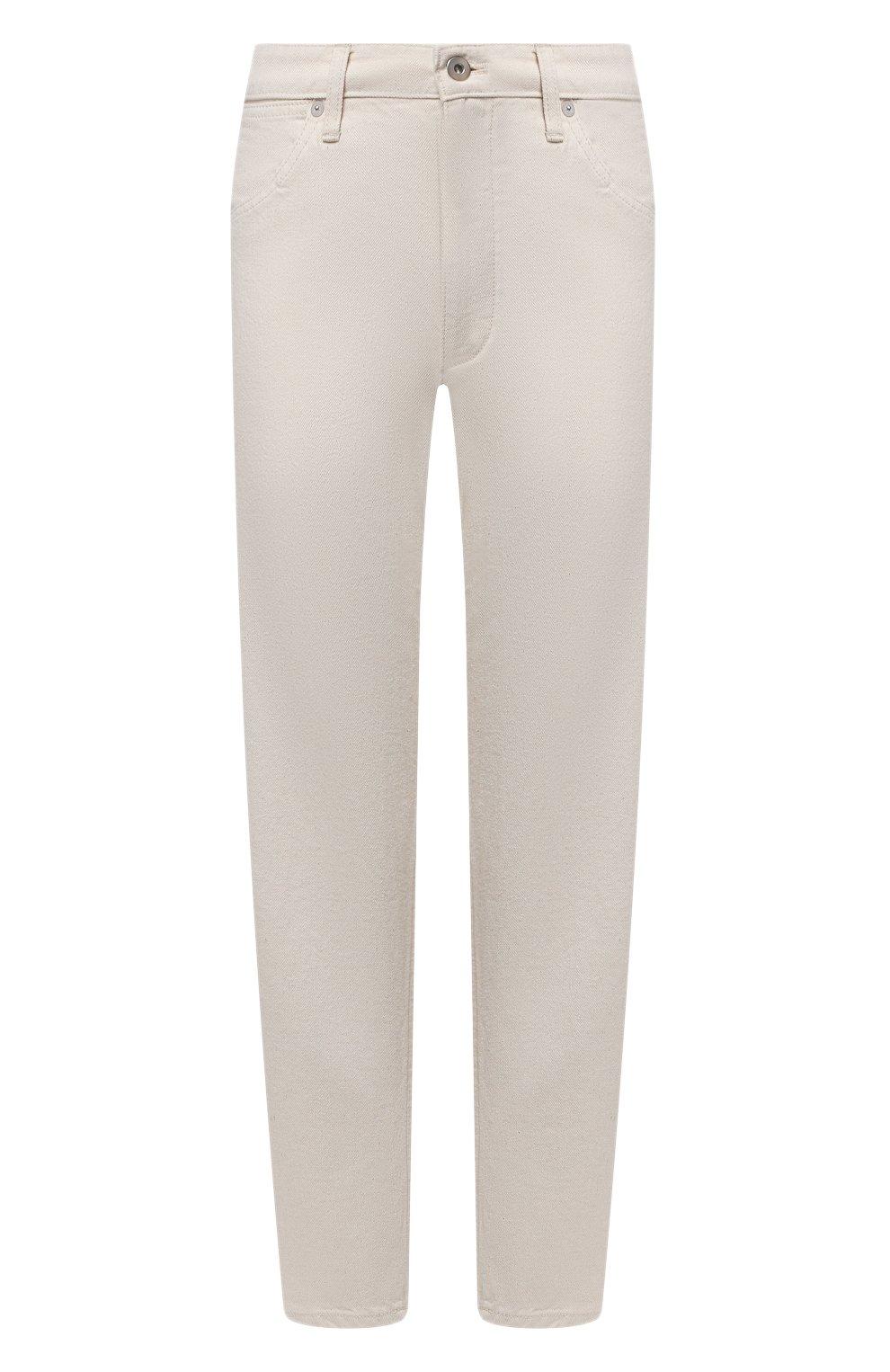 Женские джинсы JIL SANDER бежевого цвета, арт. JPPS663107-WS246500 | Фото 1