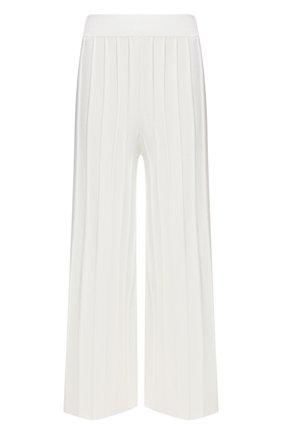 Женские шерстяные брюки THEORY белого цвета, арт. L0111718 | Фото 1