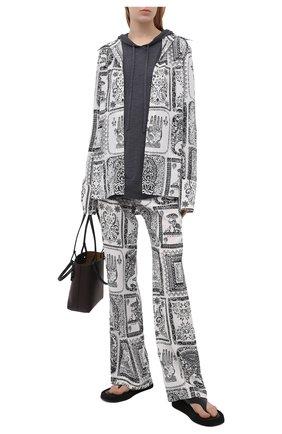 Женский шерстяное худи THEORY серого цвета, арт. L0111722 | Фото 2