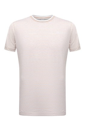 Мужская хлопковая футболка BOGNER светло-бежевого цвета, арт. 58056798   Фото 1