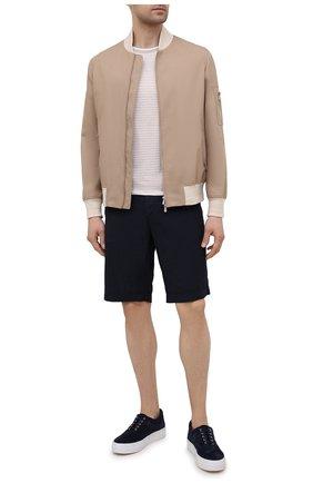 Мужская хлопковая футболка BOGNER светло-бежевого цвета, арт. 58056798   Фото 2