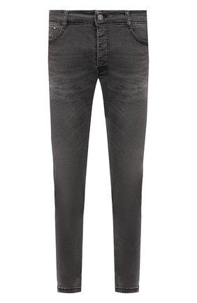 Мужские джинсы PREMIUM MOOD DENIM SUPERIOR серого цвета, арт. S21 0417362510/REN   Фото 1