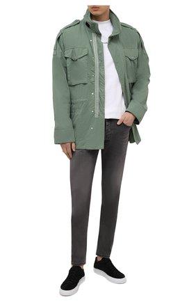 Мужские джинсы PREMIUM MOOD DENIM SUPERIOR серого цвета, арт. S21 0417362510/REN   Фото 2