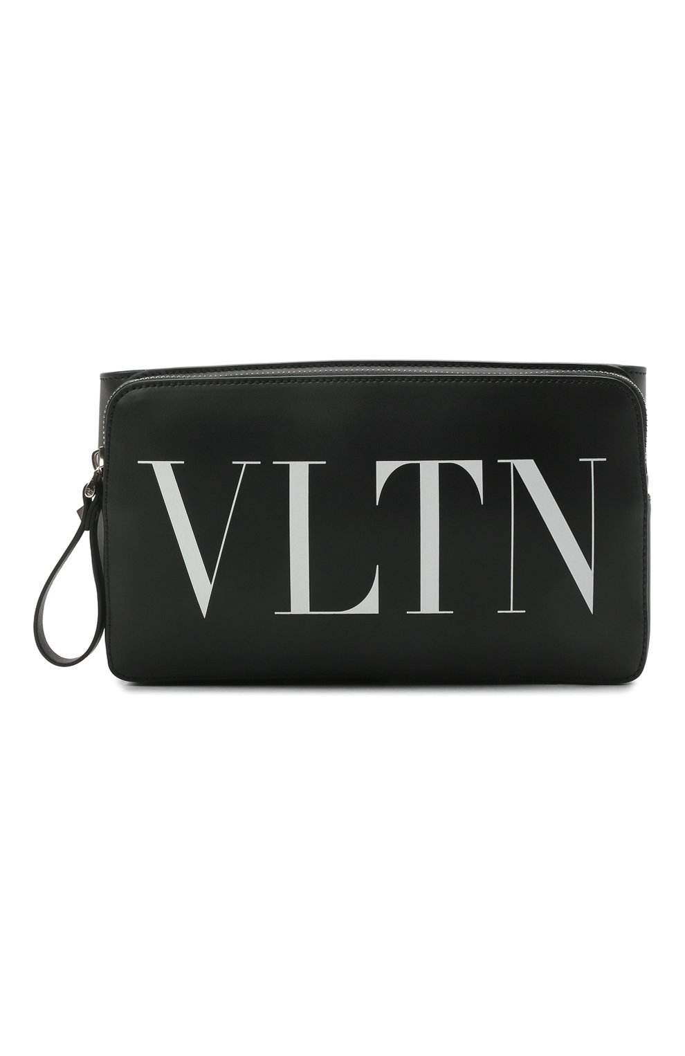 Мужская кожаная поясная сумка VALENTINO черного цвета, арт. VY0B0719/WJW | Фото 1