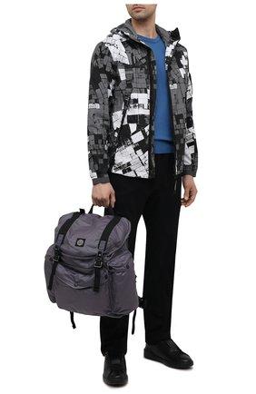 Мужской текстильный рюкзак STONE ISLAND темно-серого цвета, арт. 741590370   Фото 2