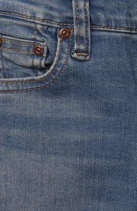 Детские джинсы POLO RALPH LAUREN голубого цвета, арт. 320845297 | Фото 3
