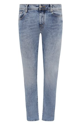 Мужские джинсы JACOB COHEN голубого цвета, арт. J688 C0MF 02324-W3/55   Фото 1