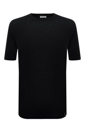 Мужской хлопковый джемпер JACOB COHEN черного цвета, арт. J1114 02383-ZR/55   Фото 1