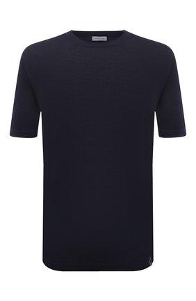 Мужской хлопковый джемпер JACOB COHEN темно-синего цвета, арт. J1114 02383-ZR/55   Фото 1