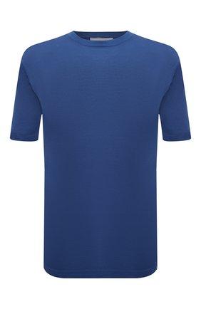 Мужской хлопковый джемпер JACOB COHEN синего цвета, арт. J1114 02383-ZR/55 | Фото 1