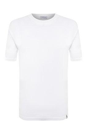 Мужской хлопковый джемпер JACOB COHEN белого цвета, арт. J1114 02383-ZR/55   Фото 1