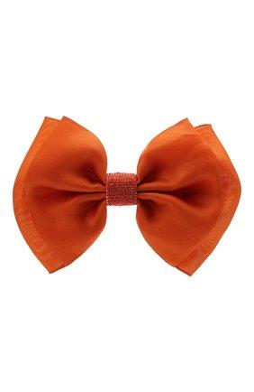 Женская бант PANFIL оранжевого цвета, арт. Бант 20-D2-Rh | Фото 1