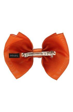 Женская бант PANFIL оранжевого цвета, арт. Бант 20-D2-Rh | Фото 2