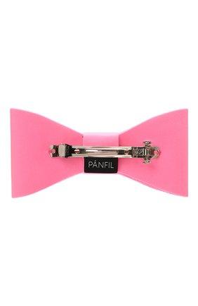 Женская бант PANFIL розового цвета, арт. Бант 25-8 | Фото 2