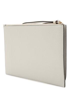 Женские кожаный футляр для документов FURLA белого цвета, арт. EAX0UNO/ARE000 | Фото 2
