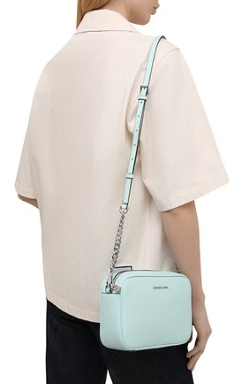 Женская сумка ginny MICHAEL MICHAEL KORS голубого цвета, арт. 32F7SGNM8L | Фото 2