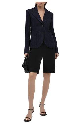 Женский шерстяной жакет VERSACE темно-синего цвета, арт. A88912/1F01181 | Фото 2