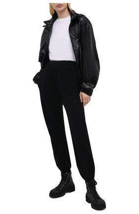 Женская ветровка ALEXANDER WANG черного цвета, арт. UWC2212001 | Фото 2
