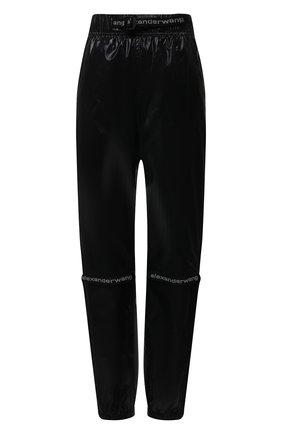 Женские джоггеры ALEXANDER WANG черного цвета, арт. UWC2214002   Фото 1
