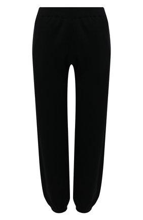 Женские джоггеры из хлопка и шелка MRZ черного цвета, арт. S21-0009 | Фото 1