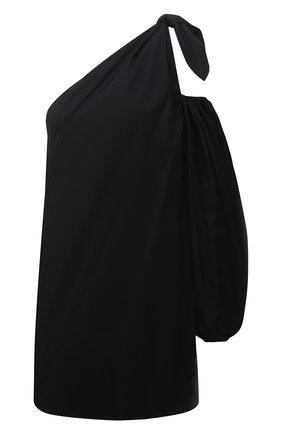 Женское хлопковое платье BERNADETTE черного цвета, арт. SS21-SHDRESS-LUC-CP0-1 | Фото 1