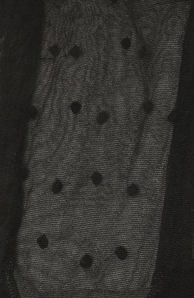 Женские колготы SAINT LAURENT черного цвета, арт. 654585/Y36FP | Фото 2