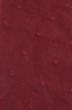 Женские колготы SAINT LAURENT бордового цвета, арт. 654585/Y36FP | Фото 2