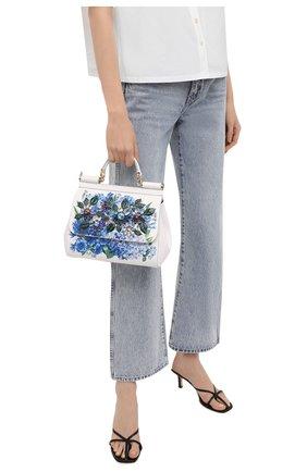 Женская сумка sicily DOLCE & GABBANA голубого цвета, арт. BB6002/B5828 | Фото 2