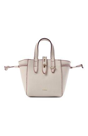 Женский сумка-тоут furla net mini FURLA бежевого цвета, арт. BASRFUA/HSF000   Фото 1