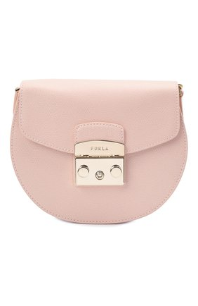 Женская сумка metropolis mini FURLA светло-розового цвета, арт. BATJEP0/ARE000   Фото 1