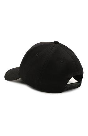 Женская хлопковая бейсболка SEVEN LAB черного цвета, арт. CAP21-D black   Фото 2