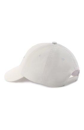 Женская хлопковая бейсболка SEVEN LAB белого цвета, арт. CAP21-D white   Фото 2