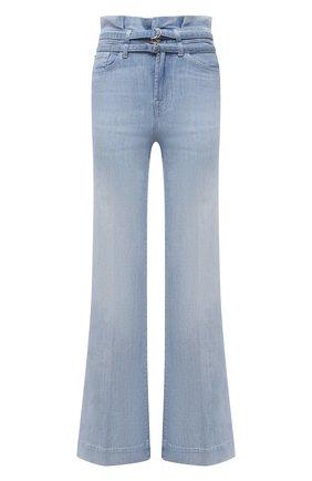 Женские джинсы 7 FOR ALL MANKIND голубого цвета, арт. JSWDR510RN   Фото 1