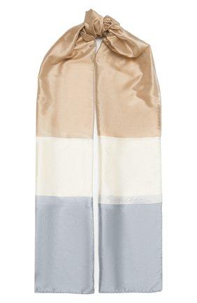 Женский шелковый шарф GIORGIO ARMANI разноцветного цвета, арт. 795002/1A119 | Фото 1