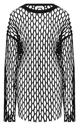 Женский пуловер DRIES VAN NOTEN черного цвета, арт. 211-11168-2632 | Фото 1