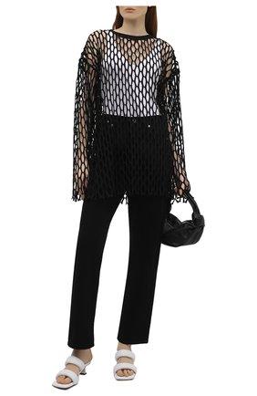 Женский пуловер DRIES VAN NOTEN черного цвета, арт. 211-11168-2632 | Фото 2