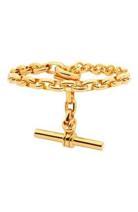 Женский браслет BOTTEGA VENETA золотого цвета, арт. 657483/VAHU0 | Фото 1