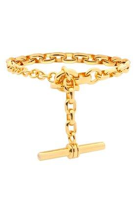 Женский браслет BOTTEGA VENETA золотого цвета, арт. 657483/VAHU0 | Фото 2