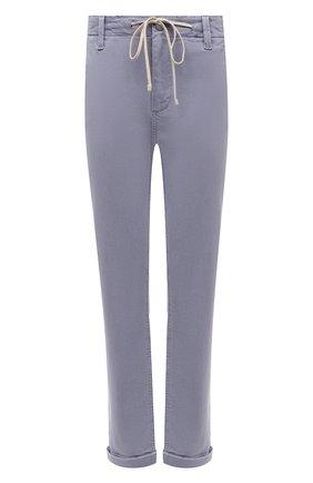 Женские брюки из хлопка и вискозы PAIGE сиреневого цвета, арт. 5659G29-4698   Фото 1