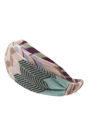 Женская повязка на голову MISSONI разноцветного цвета, арт. MDS00018/BR00DR | Фото 2