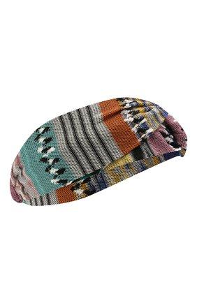 Женская повязка на голову MISSONI разноцветного цвета, арт. MDS00097/BR00DL | Фото 1